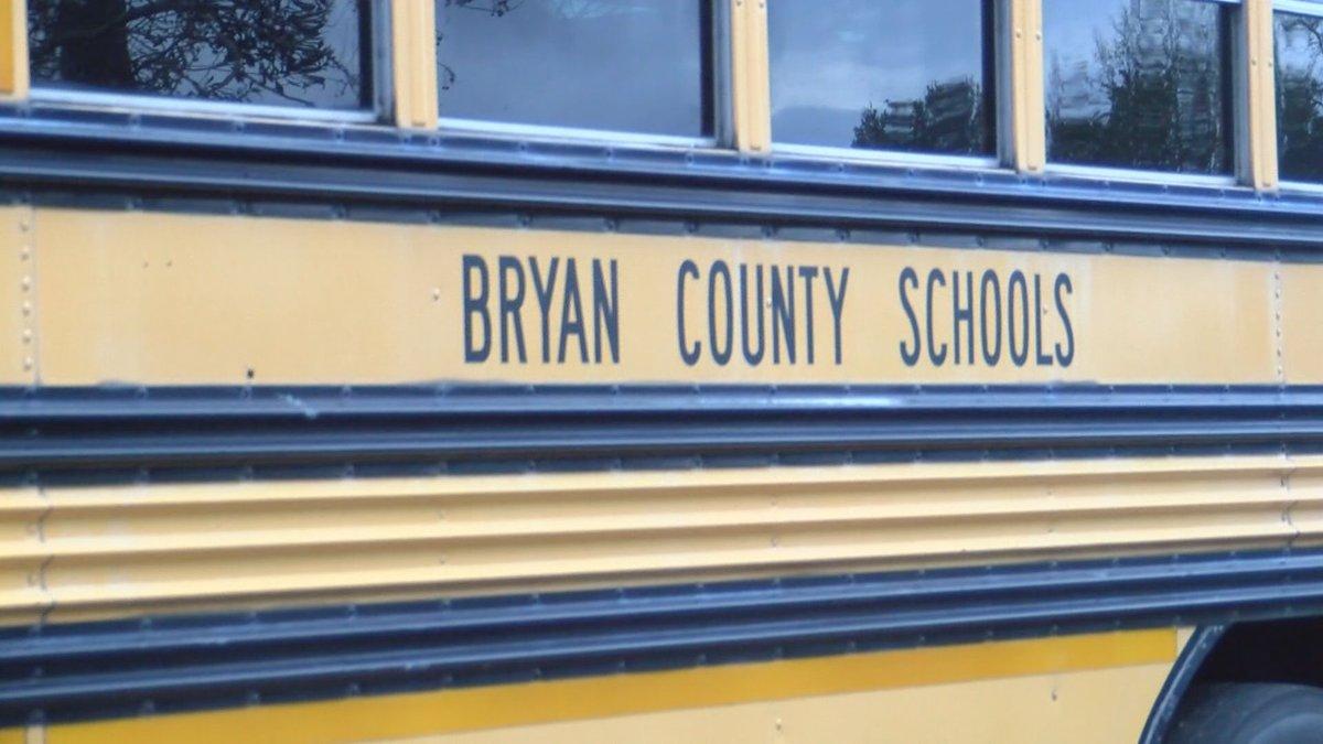 A Bryan County school bus.