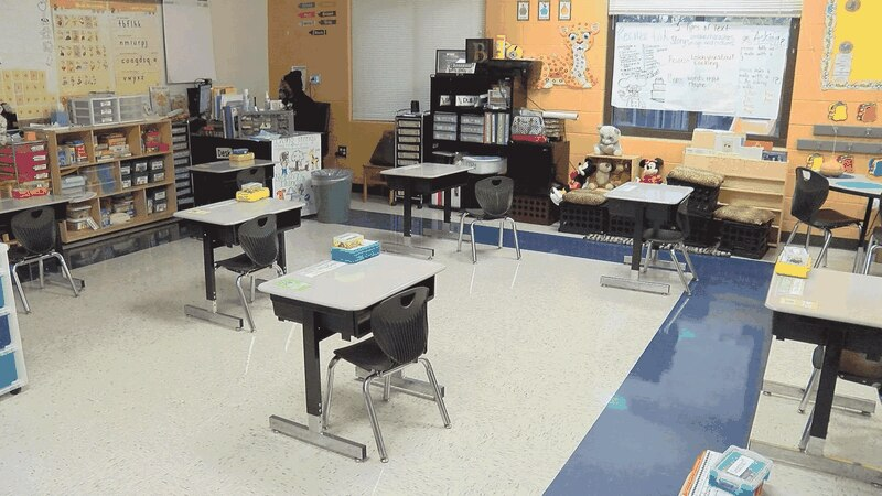SCCPSS students returning to the classroom