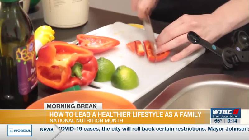 How your family can eat healthier for National Nutrition Month