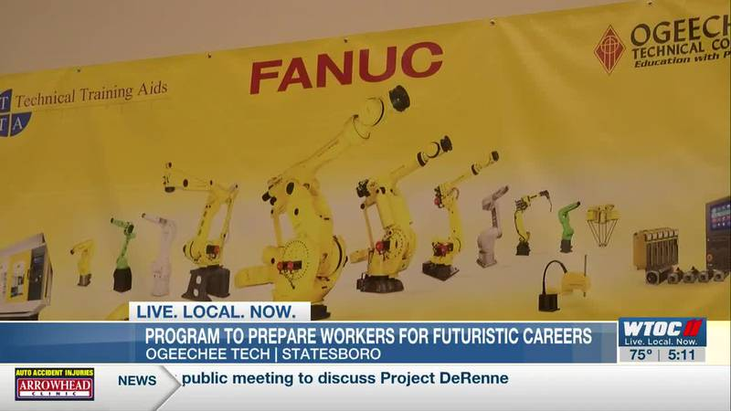 Program to prepare workers for futuristic careers
