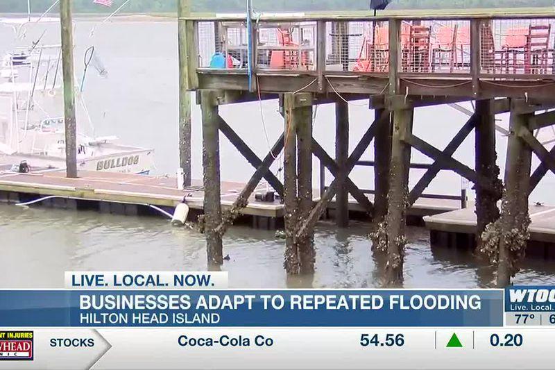 Hilton Head Island businesses adapt to repeated flooding