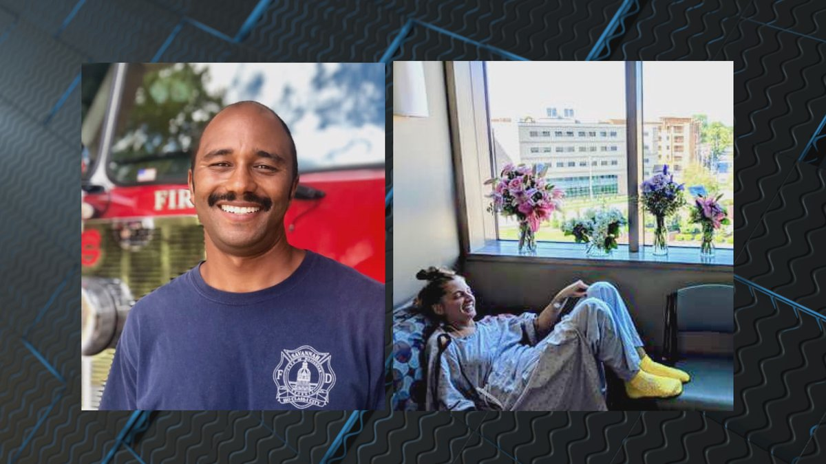 Savannah Fire Rescue Firefighter Trevor Jaha is being called a hero after he saved a woman on a...