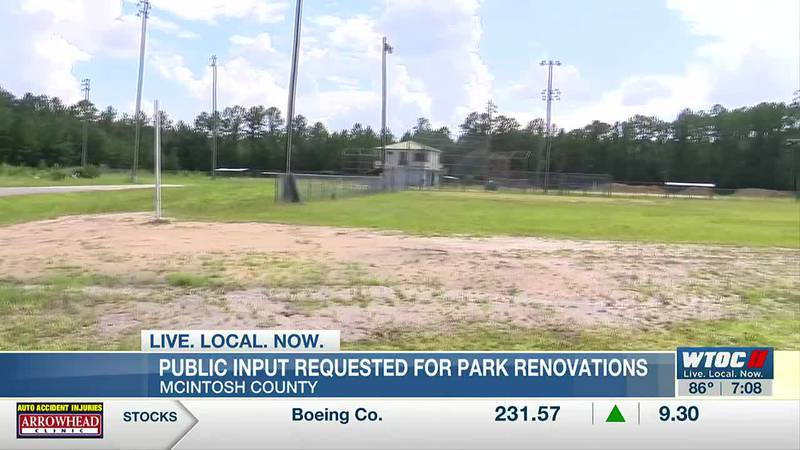Public input wanted before renovations begin on McIntosh Co. parks