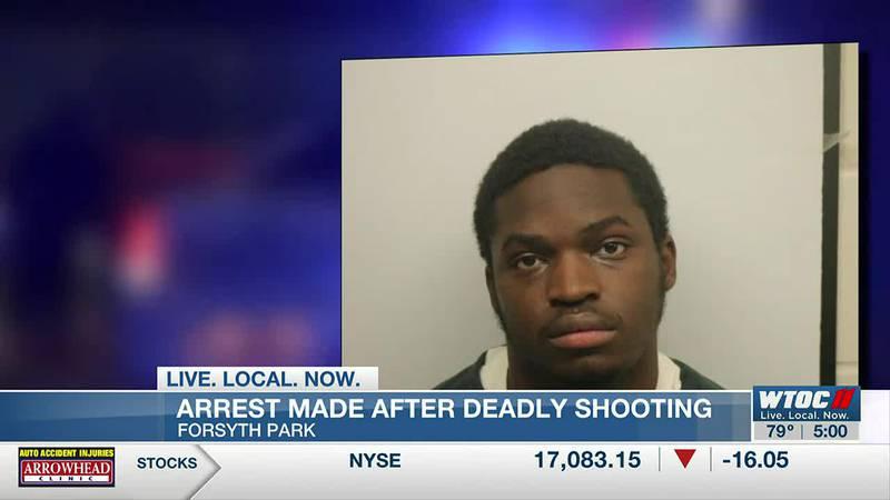Suspect arrested for deadly shooting in Forsyth Park
