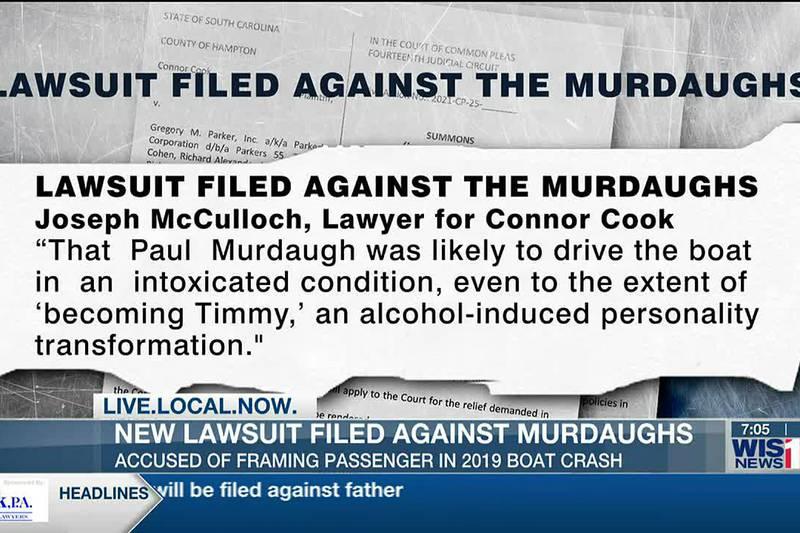 Passenger in 2019 deadly boat crash sues Alex, Buster Murdaugh