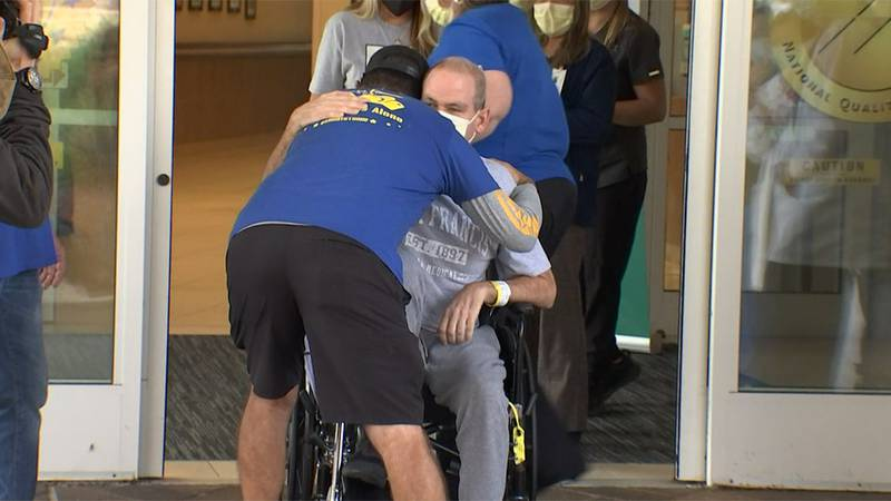 Robby Walker, a Florida man whose family called more than 150 hospitals to get him COVID-19...