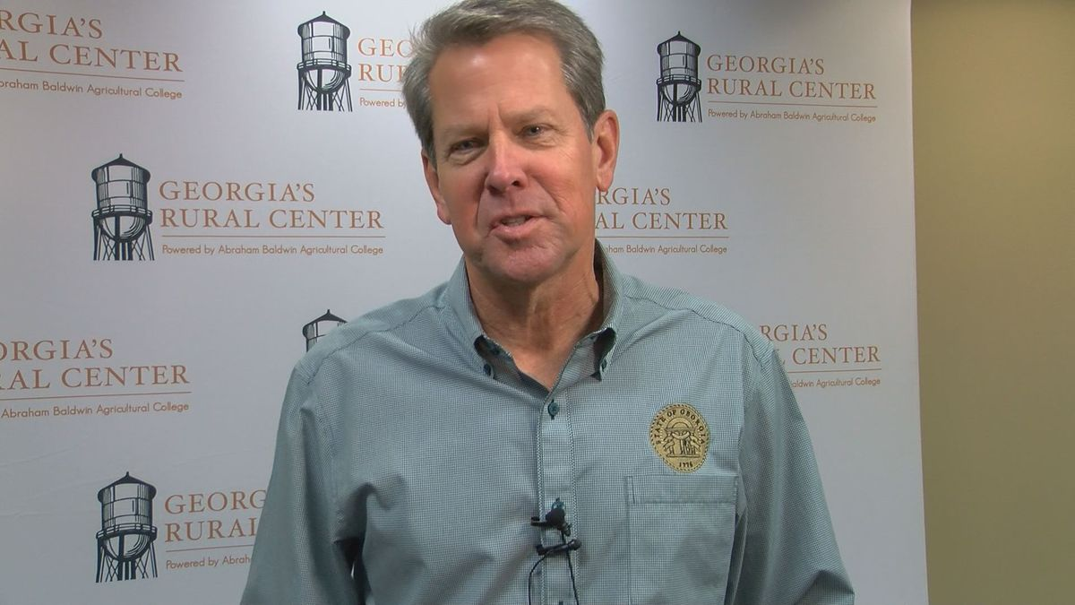 Gov. Brian Kemp wants more manufacturing to happen in Georgia.