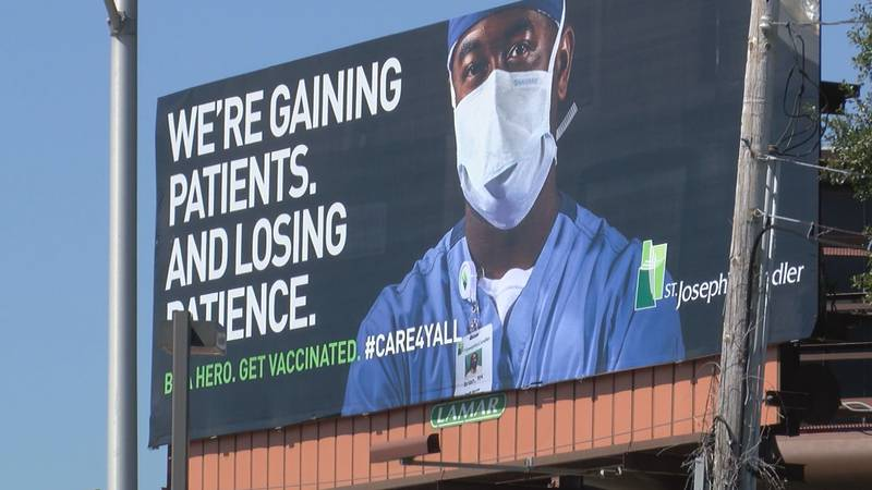 A local healthcare system's new campaign is getting a lot of attention on social media.