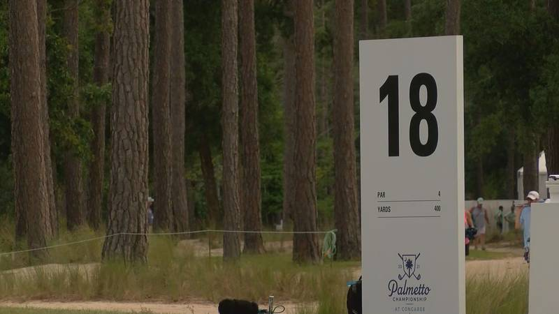 The second round of the Palmetto Championship at Congaree got underway in Ridgeland.