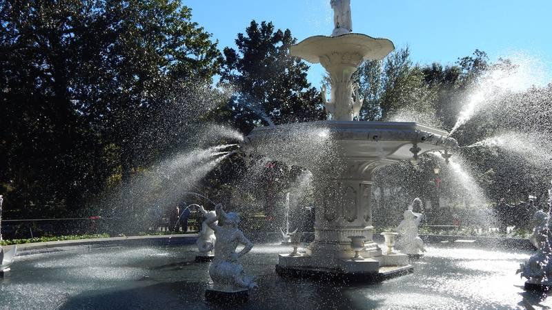 Fountain at Forsyth Park