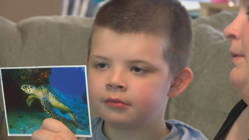 Eli Campbell, 9, of Jesup will be traveling to Savannah to undergo brain surgery. People across...