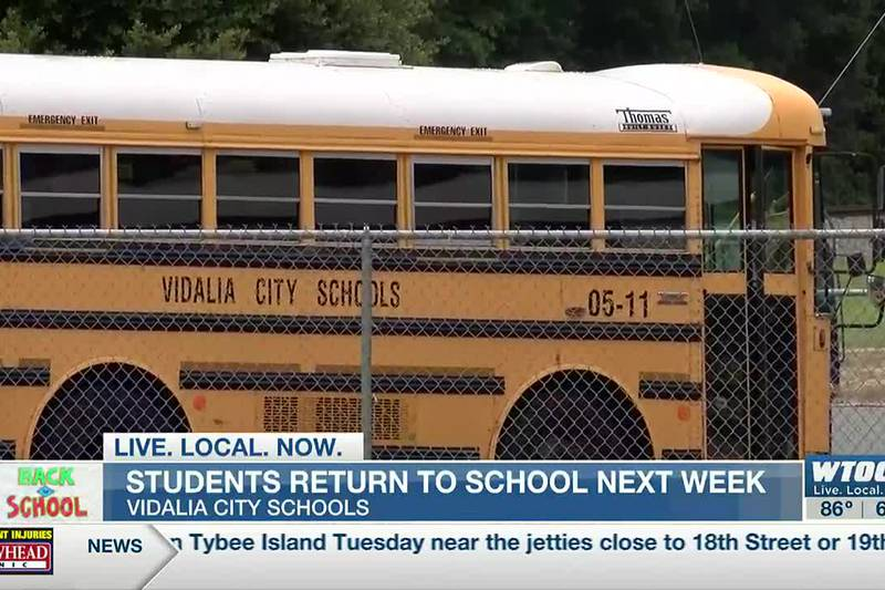 Vidalia schools ready for in-person learning