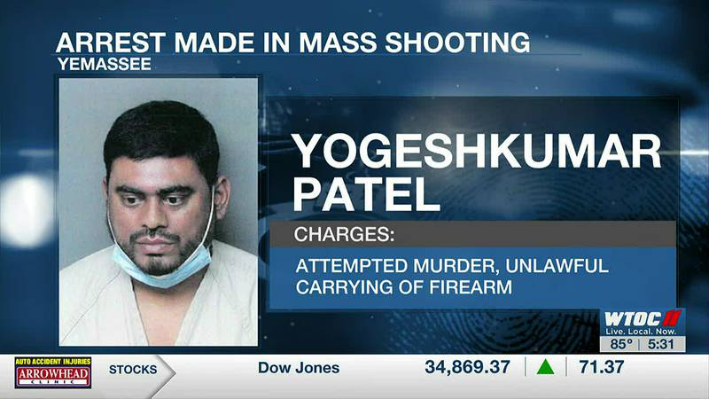 Suspect arrested in connection with Yemassee mass shooting