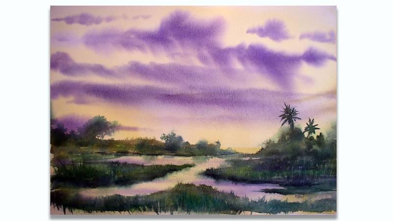 North Carolina artist Robert Hewitt draws inspiration from Savannah.