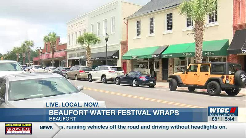 Beaufort businesses see boost from the return of the water festival