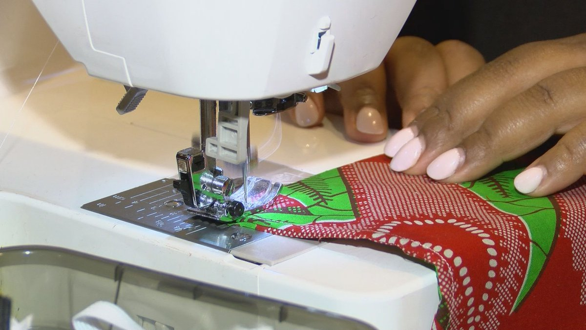 The Berry family is sewing masks for those who need them across the United States.