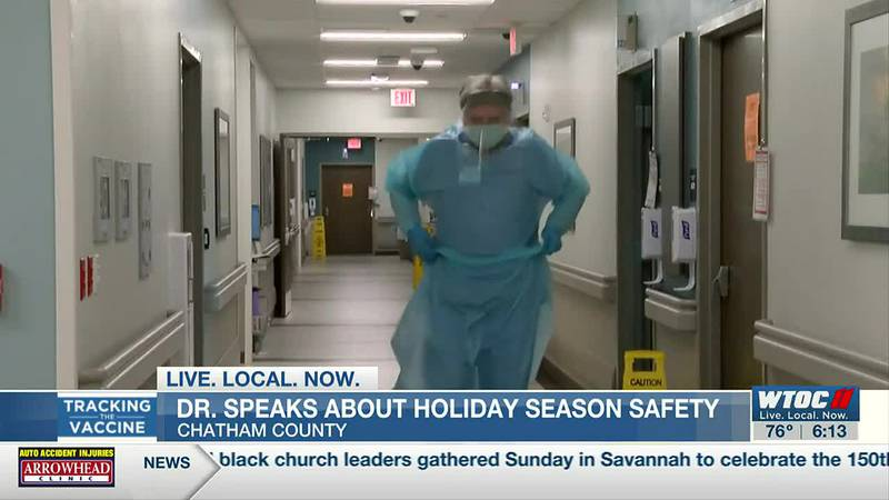 Savannah doctor discusses COVID safety for the holiday season