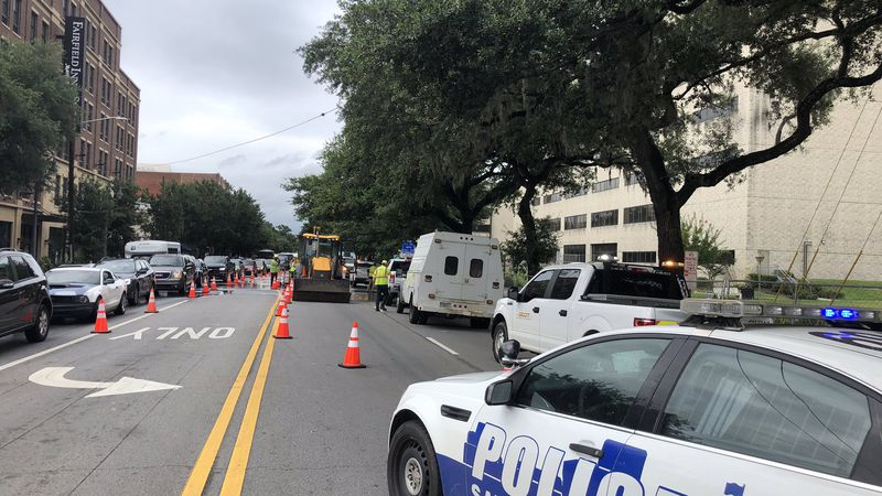 Northbound lanes of Martin Luther King Jr. Boulevard are closed between Oglethorpe and...