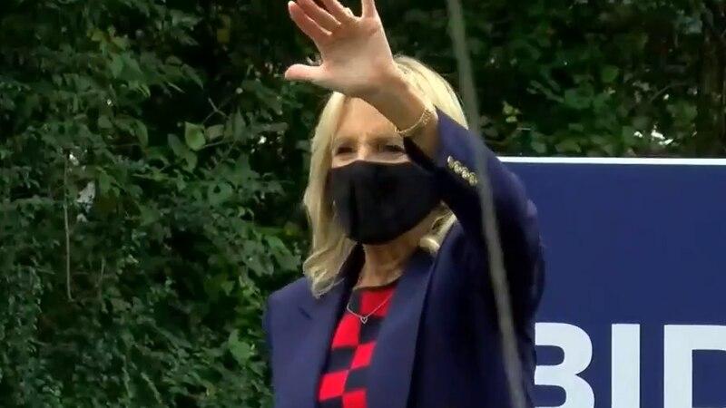 Jill Biden visits Virginia.