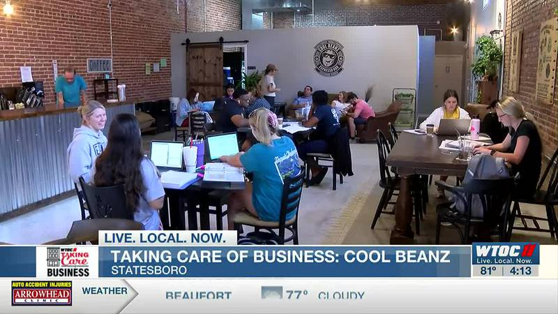Taking Care of Business: Cool Beanz Espresso Bar