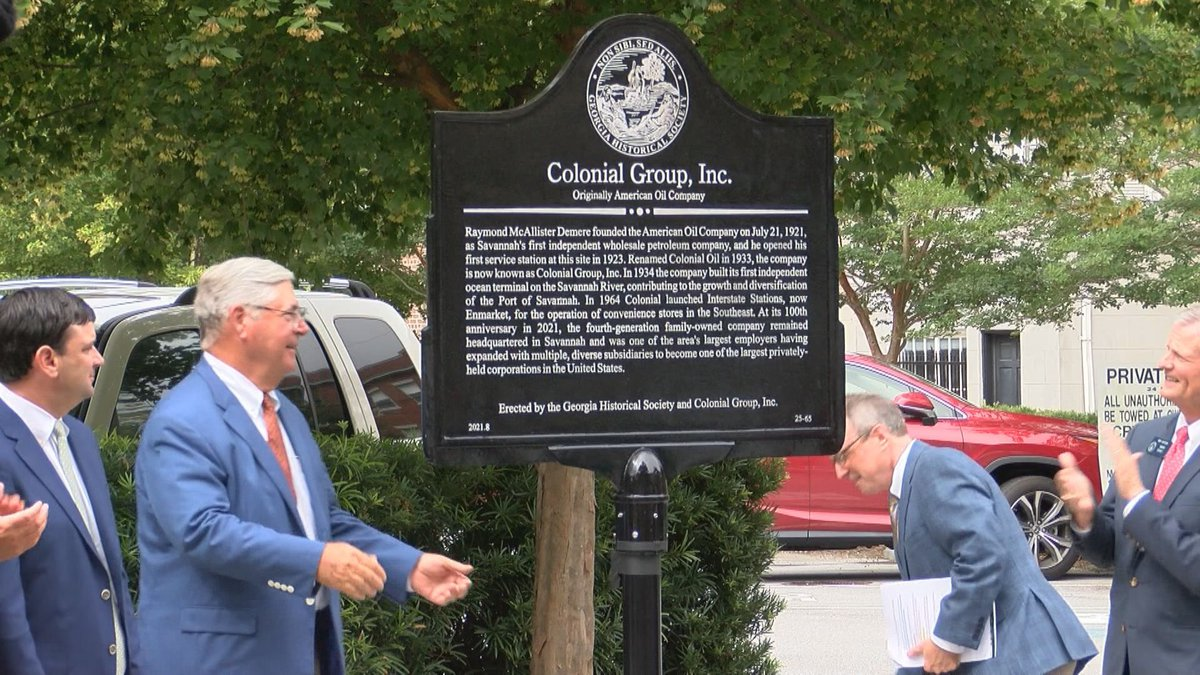 100th anniversary of Savannahs Colonial Group
