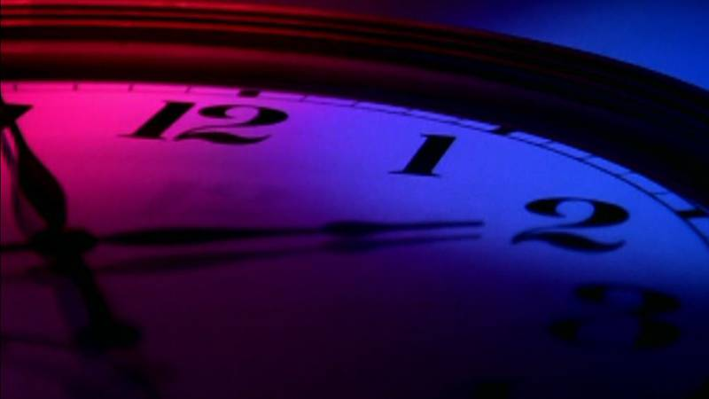 The clock is running out once more for daylight saving time. Standard time begins at 2 a.m....