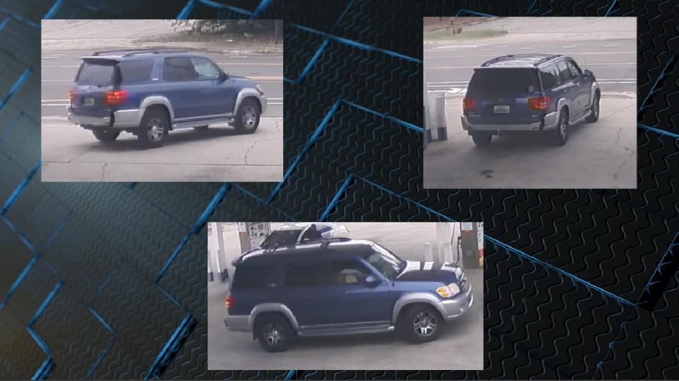 Suspect's vehicle in the kidnapping of Person of interest in the kidnapping of Kamille McKinney