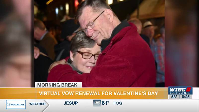 Virtual Vow Renewal for Valentine's Day